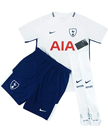 00d9ff23f Nike 2017-18 Tottenham Home Full Kit *BNIB* BOYS