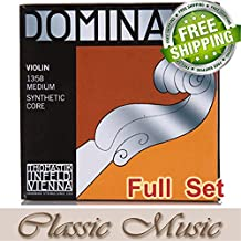 Classic Music Thomastik Dominant 135B Violin Strings Full Set 4/4 Ball End