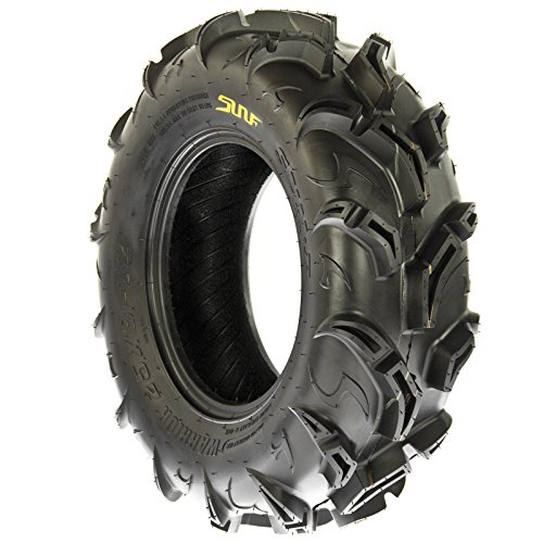 SunF Warrior AT-Mud & Trail ATV/UTV Off-Road Tires (26x9-12 Front & 26x11-12 Rear) , 6 PR (Full Set of 4)|A048 by SunF (Image #3)