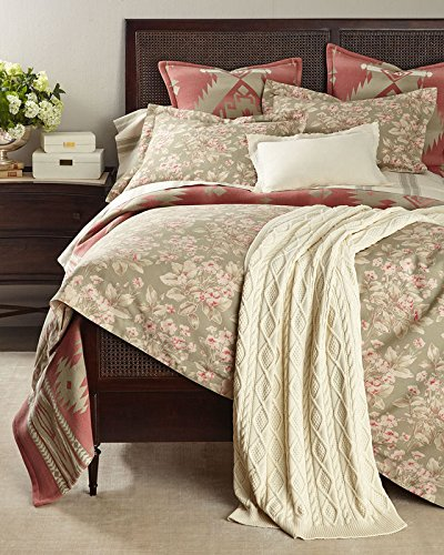 Ralph Lauren Amagansett Layla 3 PIECE Full/Queen Comforter Bundle (Layla Pillow Sham)