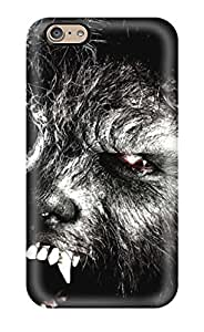 New Style ZippyDoritEduard Hard Case Cover For Iphone 6- The Wolfman Closeup People Movie by mcsharks