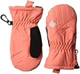 Columbia Toddler Girls Chippewa Mitten, Hot Coral, One Size