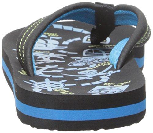 Reef Ahi Glow - Zapatos de primeros pasos Bebé-Niños Varios colores (Blue Glow)