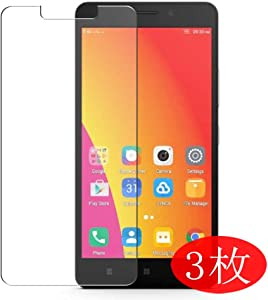 【3 Pack】 Synvy Screen Protector for Lenovo A7700 TPU Flexible HD Film Protective Protectors [Not Tempered Glass]
