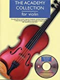 img - for ACADEMY COLLECTION: VIOLIN BK/CD (Academy Collections) book / textbook / text book