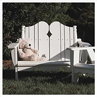 product image for Uwharrie Chair N163 Kids Two Seater - White