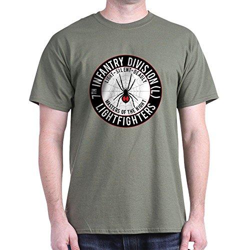 CafePress Black Widow 2012 T-Shirt 100% Cotton T-Shirt Military Green