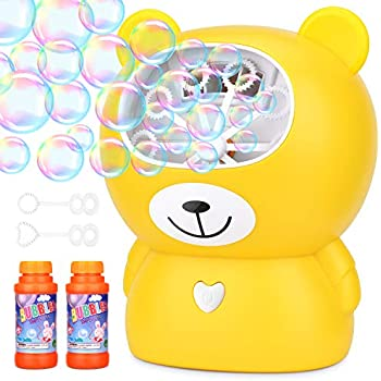 Amazon.com: Máquina de burbujas para fiestas infantiles ...