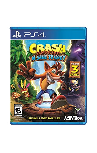 Crash Bandicoot N. Sane Trilogy - PlayStation 4 Standard - Stores Pioneer Mall