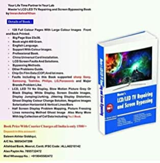 Buy LED TV   LCD TV Service Training Tamil Book Book Online at Low ... 7f8713633f