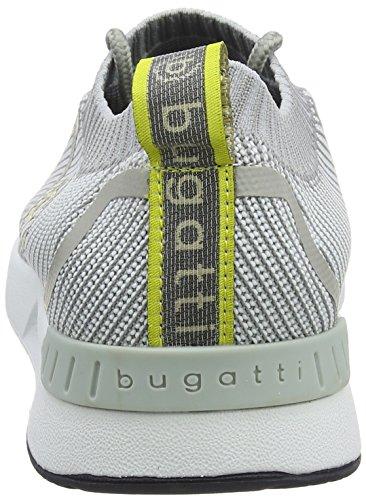 Bugatti Men's 341305646900 Slip on Trainers Grey (Light Grey 1200) BllRkm2cJ3