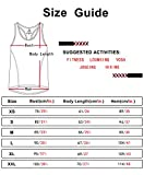 icyzone Workout Tank Tops for Women - Racerback