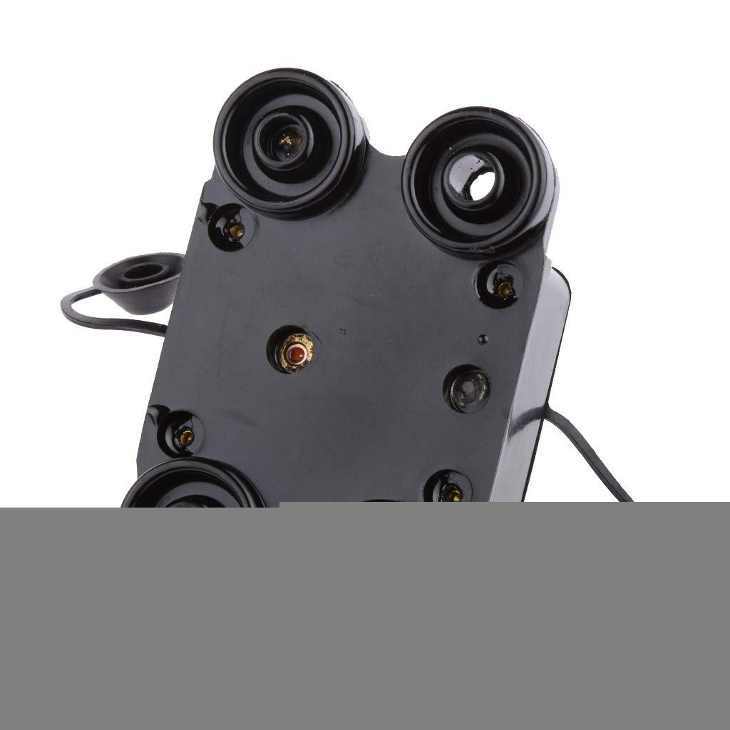 40A H HILABEE Disyuntor Interruptor Cortacircuitos para Circuito de Est/ére-o de Autom/óvil//Portafusibles para Coche 12V 24V