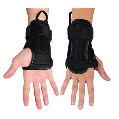CTHOPER Impact Wrist Guard Fitted Wrist Brace Wrist Support for Snowboarding, Skating, Motocross, Street Racing, Mountain Biking, Weightlifting : Sports & Outdoors