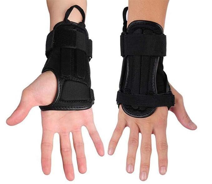 CTHOPER Impact Wrist Guard Fitted Wrist Brace Wrist Support for Snowboarding, Skating, Motocross, Street Racing, Mountain Biking, Weightlifting