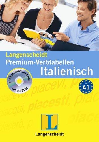 Langenscheidt Premium-Verbtabellen Italienisch - Buch mit CD-ROM