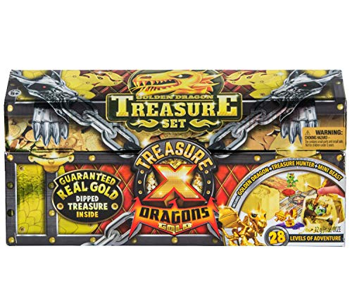 Treasure X Quest for Dragons Gold Treasure Set