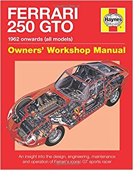 Ferrari 250 gto manual an insight into owning racing and ferrari 250 gto manual an insight into owning racing and maintaining ferraris iconic sports racer glen smale 9780857333841 amazon books fandeluxe Gallery