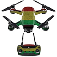 Skin for DJI Spark Mini Drone Combo - Yeah Mon| MightySkins Protective, Durable, and Unique Vinyl Decal wrap cover | Easy To Apply, Remove, and Change Styles | Made in the USA
