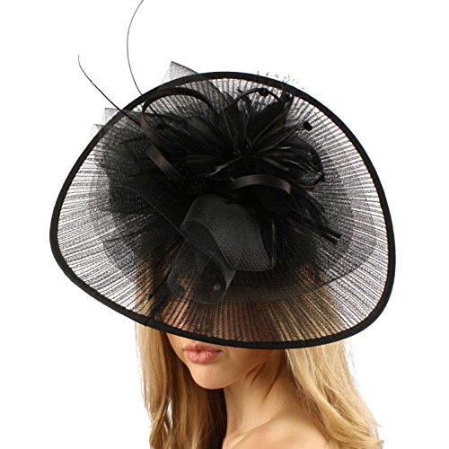 Big Kentucky Derby Feather Floral Organz - Feather Hat Band Shopping Results