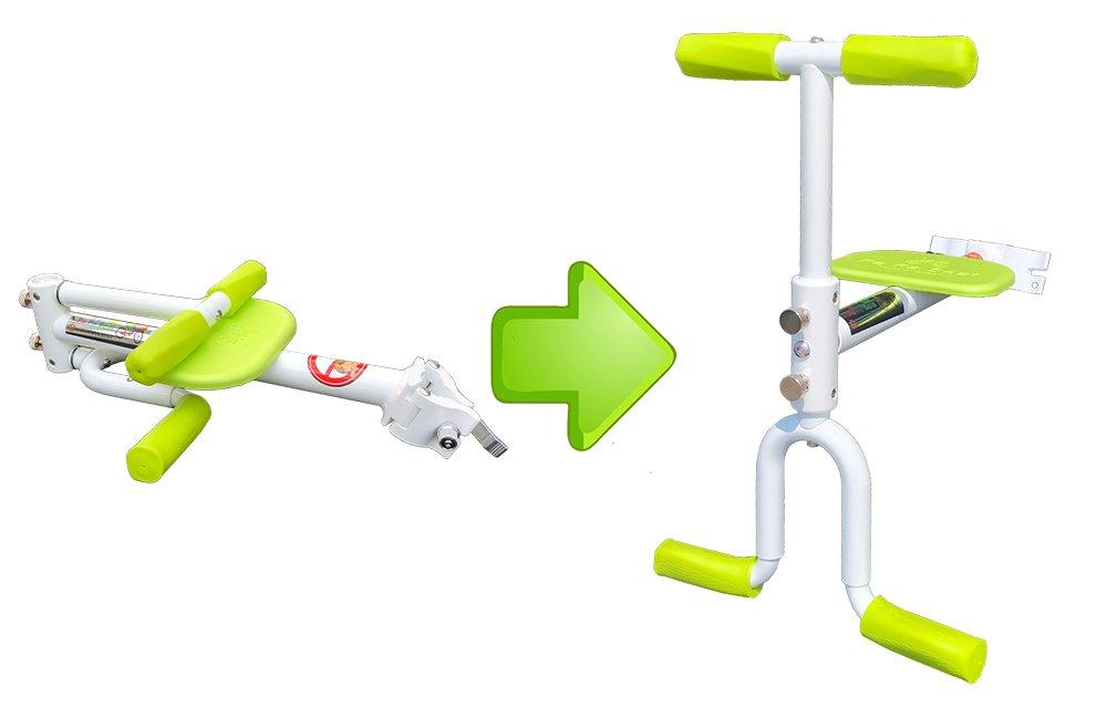 PaPaSeat Portable Light Weight Fast Install Child Bike Seat, Works with All City Bikes (USA, Canada, Paris, Milan, Warsaw, Tokyo, Taipei…) by PaPaSeat (Image #1)