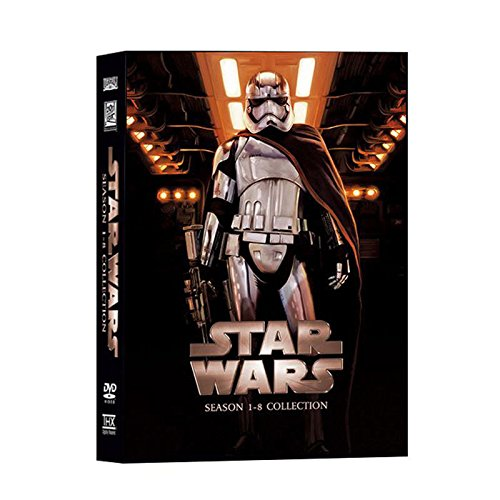 Star Wars The Complete Saga Episodios 1 8 Dvd Set Cine Y Tv