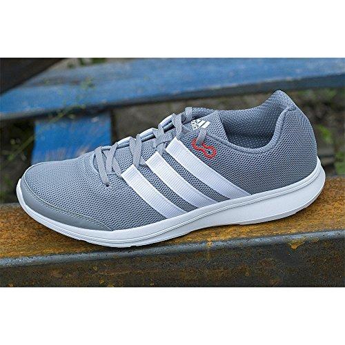 De midgre ftwwht Homme Gris Course Adidas visgre Grau Chaussures Ppvq66