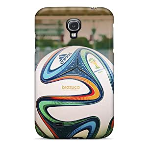 New Arrival Premium S4 Cases Covers For Galaxy (brazuca Football World Cup 2014)