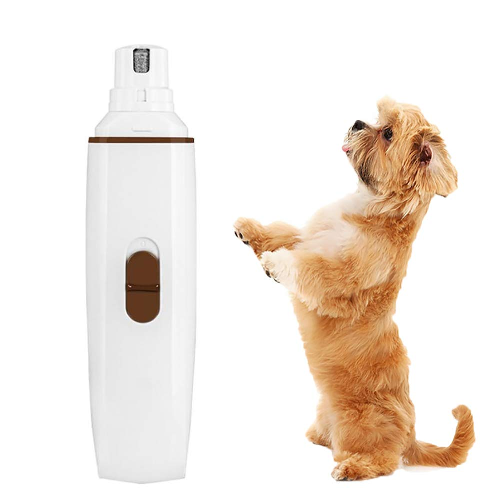 Electric Dog Nail Grinder Pet Nail redating File for Dogs, Cats, and Other Small Animals Ultra Quiet & Quick USB Charging