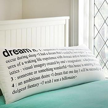 Amazon Com Body Pillow Cover Dream Explanation Long Body