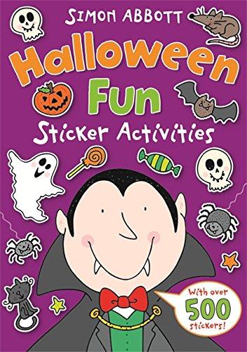 Halloween Fun Sticker Activities (The Wonderful World of Simon Abbott) -