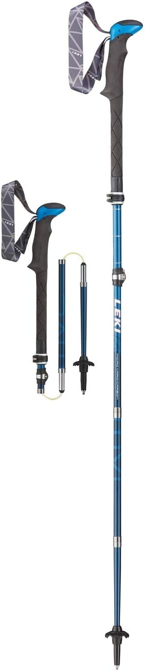 LEKI Micro Vario Carbon Pole Pair