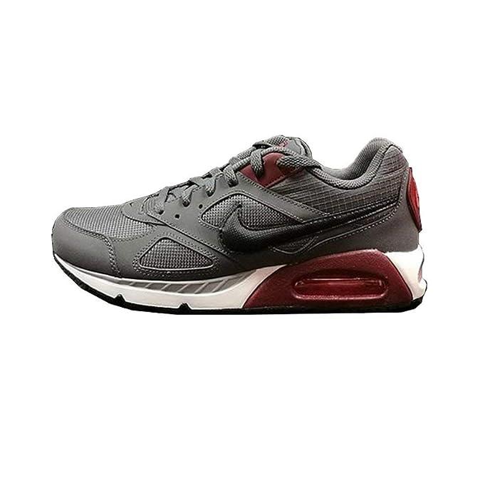 Nike Air Max Ivo Sneakers Dunkelgrau Rot