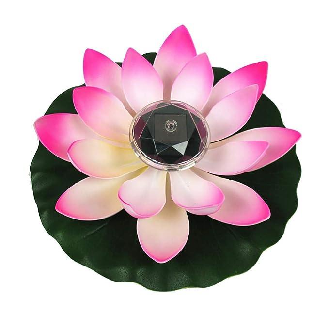 Amazon.com: PBudiYr❤ Lámpara de piscina de jardín con ...