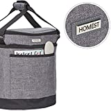 HOMEST 2 Compartments Carry Bag Compatible with 6