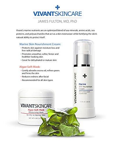 Vivant Skin Care Marine Skin Nourishment Cream, 3.3 Ounce