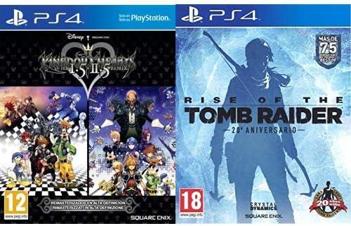 Kingdom Hearts HD 1.5 + 2.5 Remix & Rise Of The Tomb Rider: 20 ...