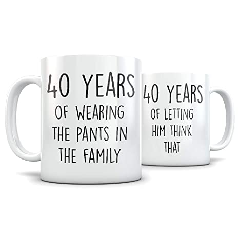Amazon 40th Anniversary Gift For Couple Funny 40 Year Wedding