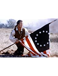 Mel Gibson With American Flag The Patriot 24x36 Poster