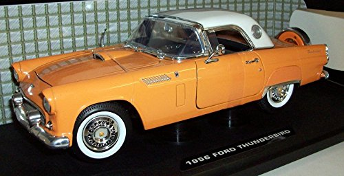 Motormax 1/18 Scale - 73176 1956 Ford Thunderbird red / whit