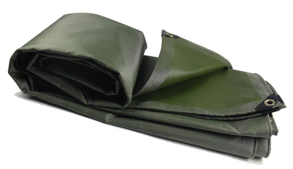 KYCD, telone Impermeabile e Resistente, Adatto per Coprire Articoli, Decorazione da Giardino, Campeggio, Tenda da Campeggio, opzioni di Varie Dimensioni, verde (Dimensioni  4 x 6 m), 4  5m