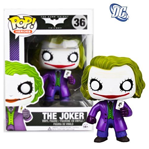 funko pop Dark Knight Rises Batman figurine doll clown joker Q model