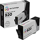 LD Remanufactured Replacement for Hewlett Packard CD971AN (HP 920) Black Ink Cartridge for OfficeJet 6000, 6500, 6500a, 6500a Plus, 7000 & 7500a