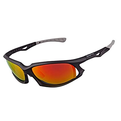 Yuqianqian Gafas Polarizadas Deporte Bici Anti UV400 Unisex ...