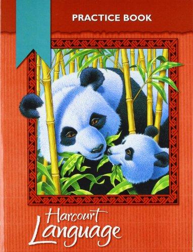 Harcourt School Publishers Language: Practice Workbook Grade 3