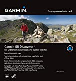 Garmin GB Discoverer 2010 Great Britain National Parks Topographical Map microSD Card