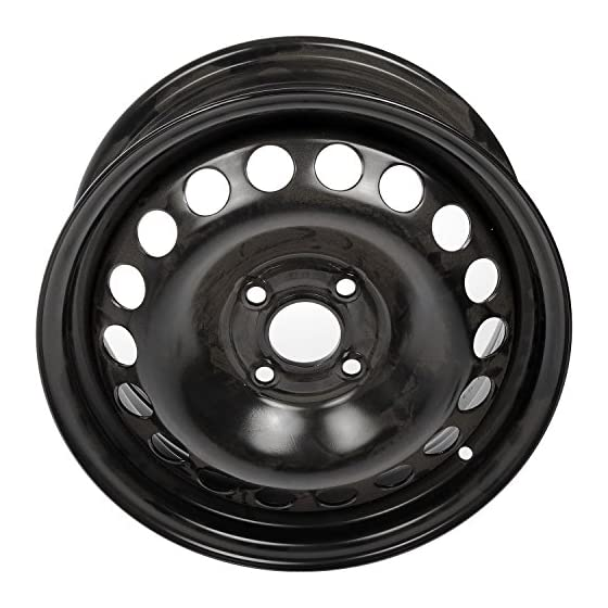 Dorman 939-100 Steel Wheel (15x6in.) for Select Chevrolet / Pontiac Models, Black