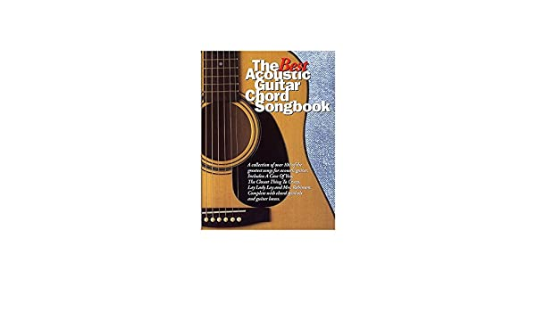The Best Acoustic Guitar Chord Songbook. Partituras para Guitarra ...