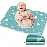 "October Elf Unisex Baby Waterproof Diaper Changing Mat Pad with Large Size (20""*28"", H/1pc)"