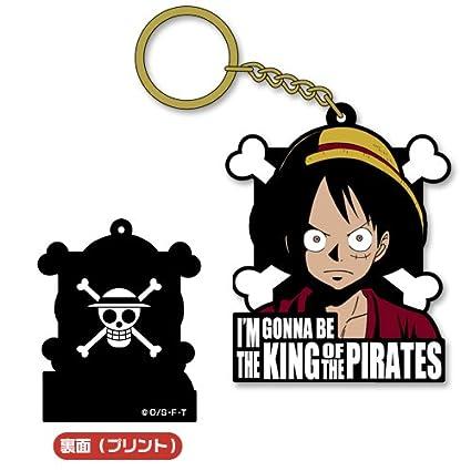 Amazon.com: One Piece – New World Luffy Llavero de goma ...